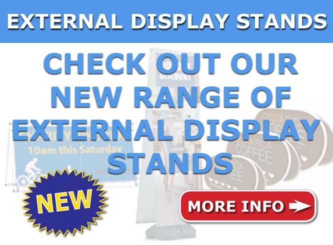 Cheap external display stands