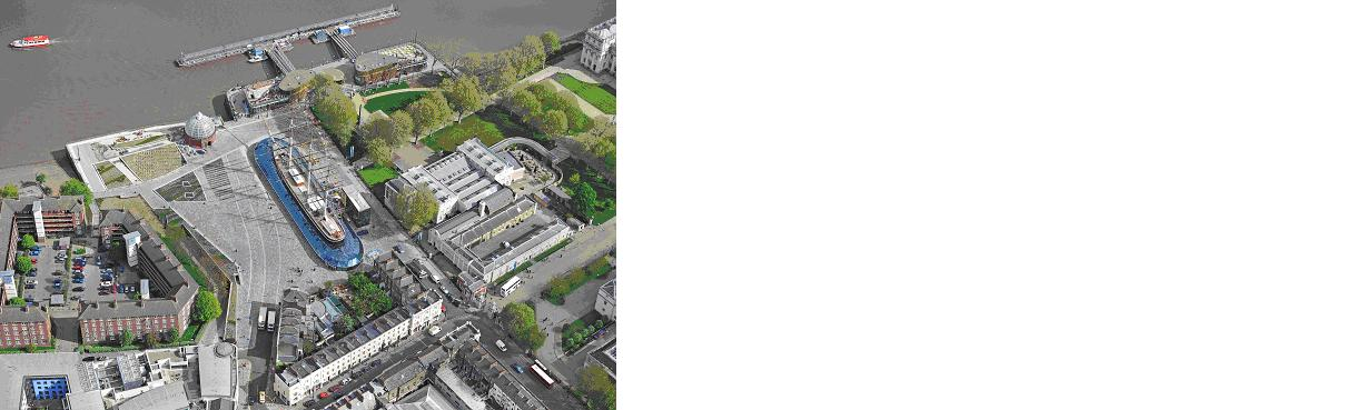Redeveloped Cutty Sark Gardens