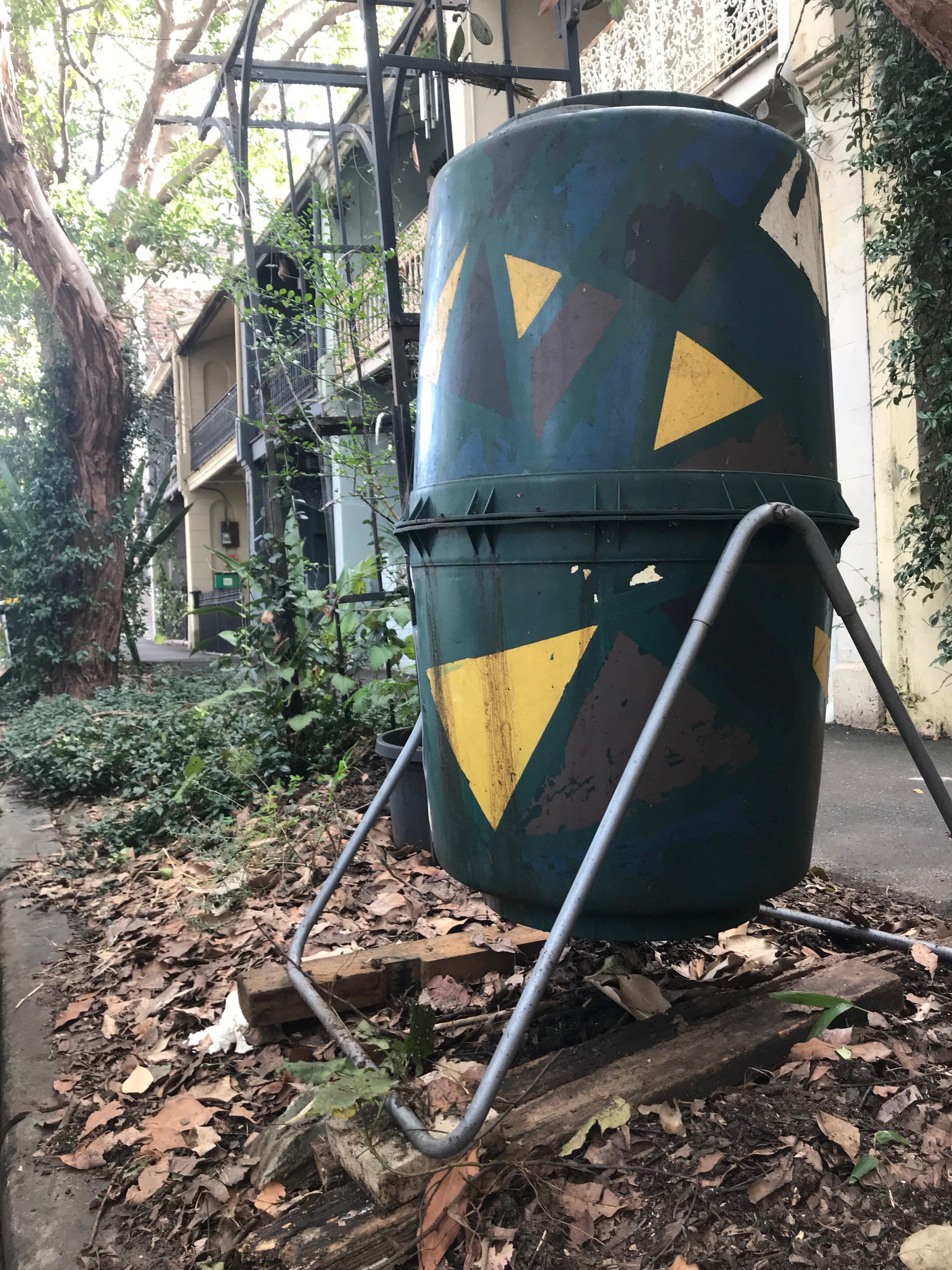 Turn-Over Compost Bin