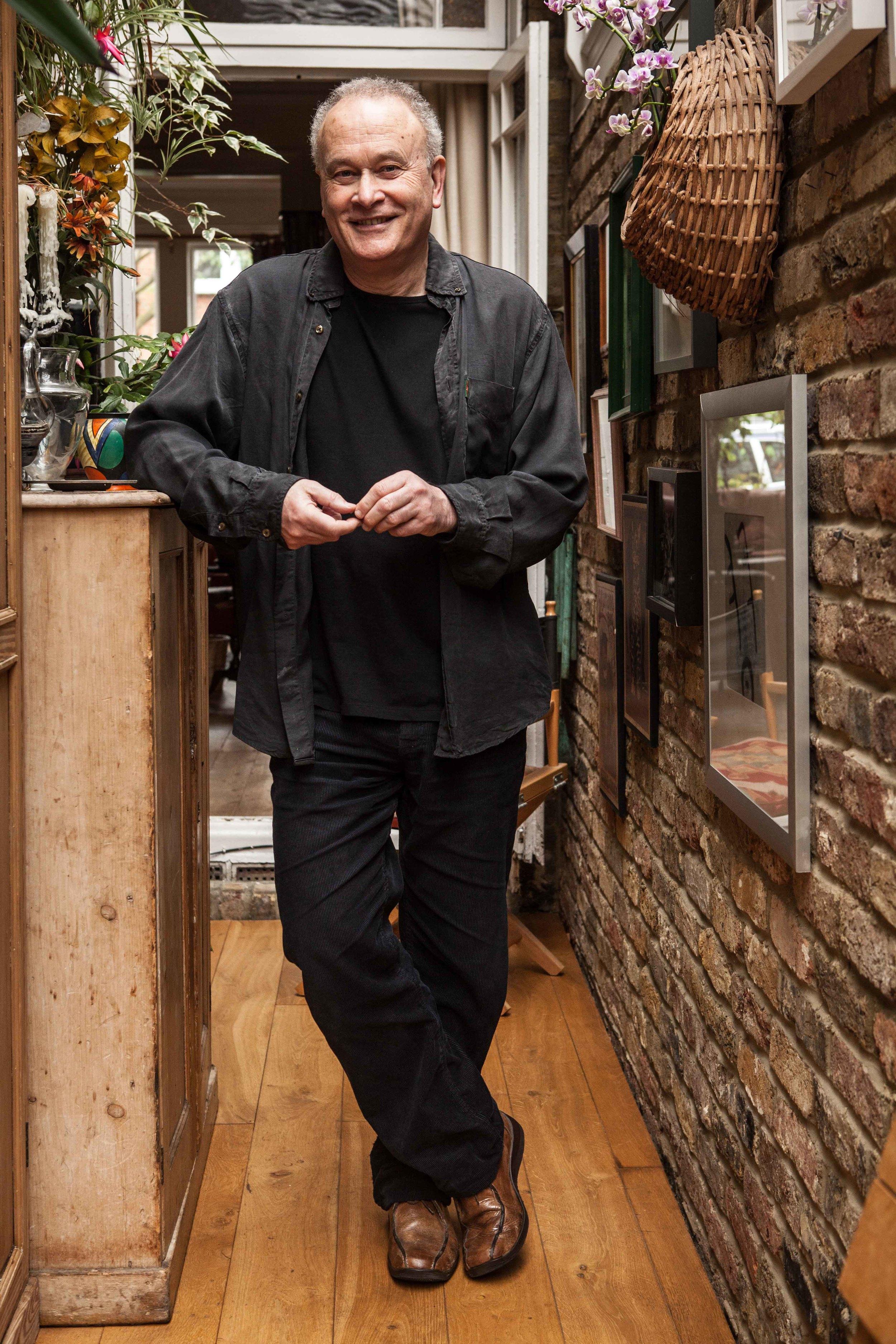 Colin Matthews at home by Fiona Garden 2014