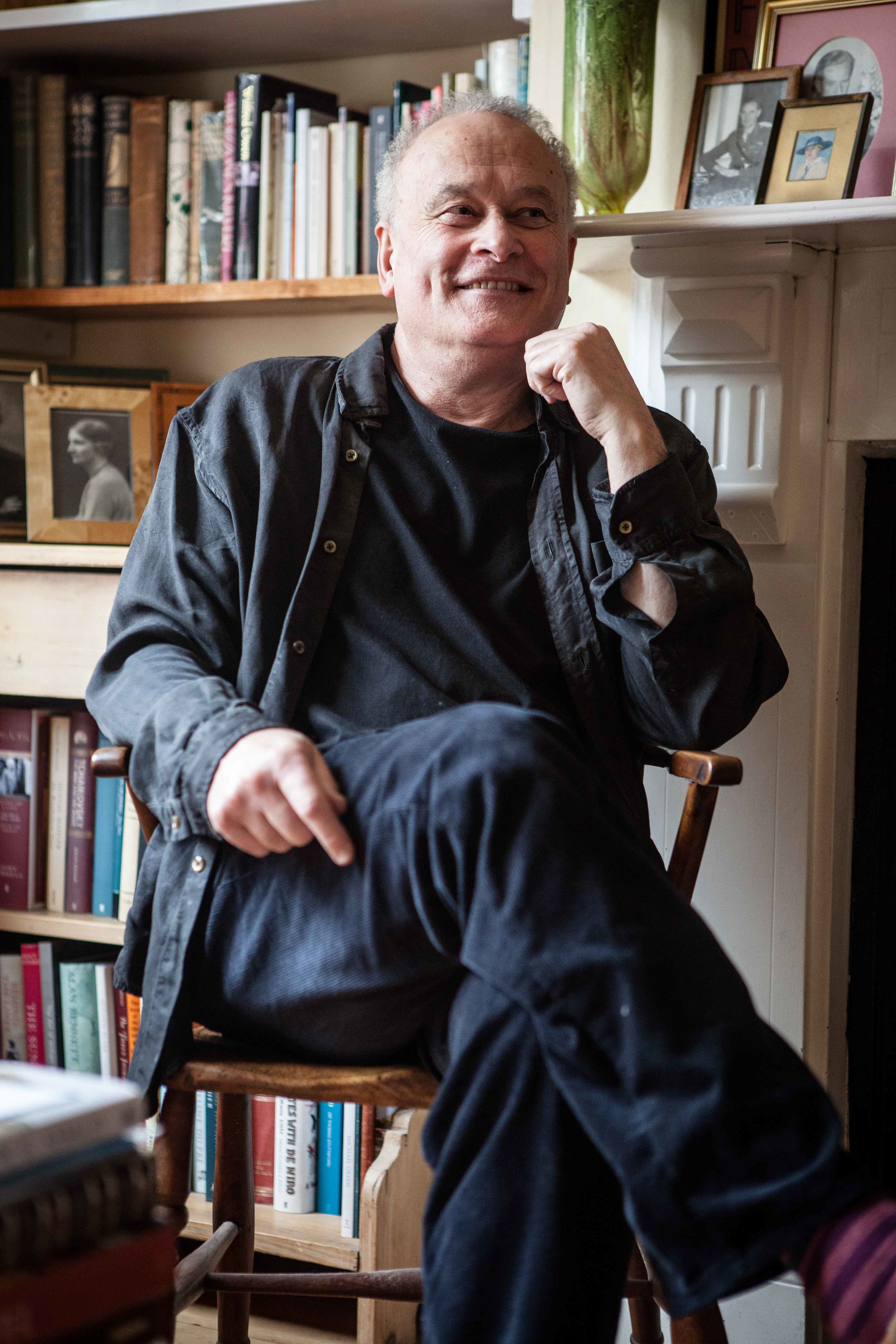 Colin Matthews OBE at home by Fiona Garden 2014