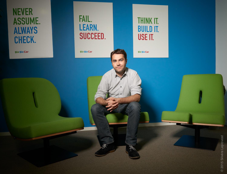 Frédéric Mazzella CEO et fondateur de Bla Bla Car