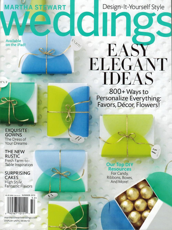 Martha Stewart Weddings Summer 2013
