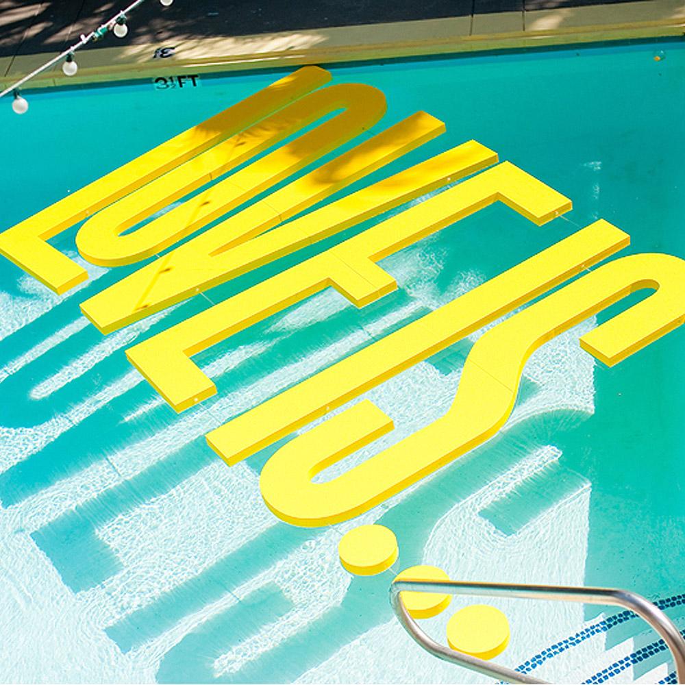 8 foot custom foam lettering