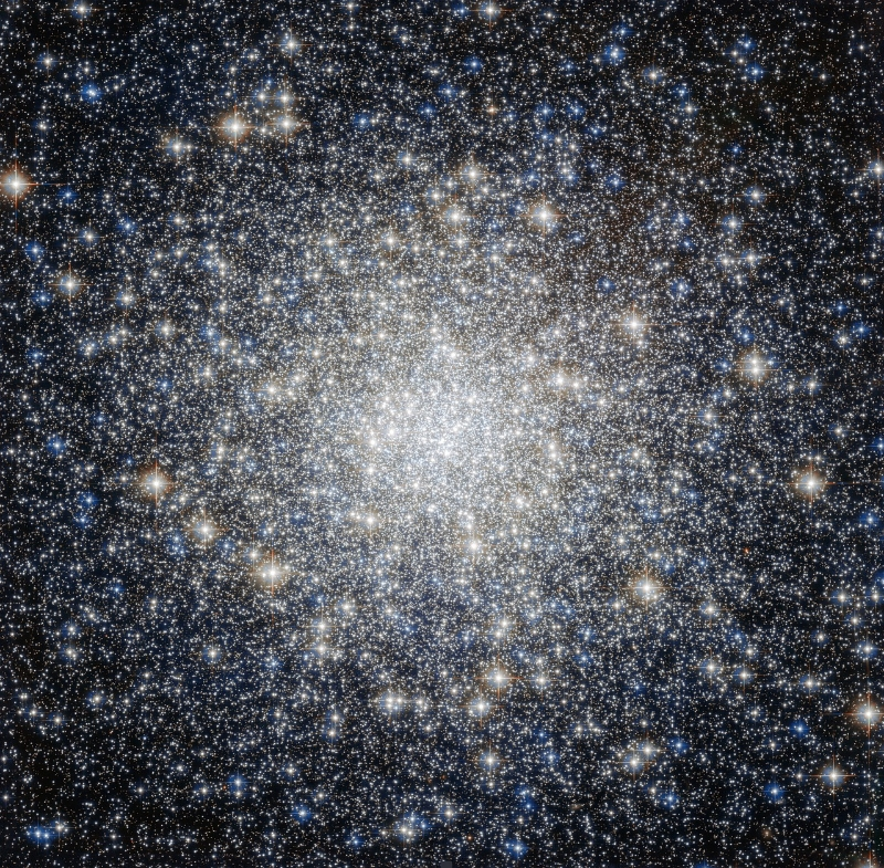 Used under the CC0 Public Domain/  Globular Cluster Stars Messier 92 by skeeze on Pixabay