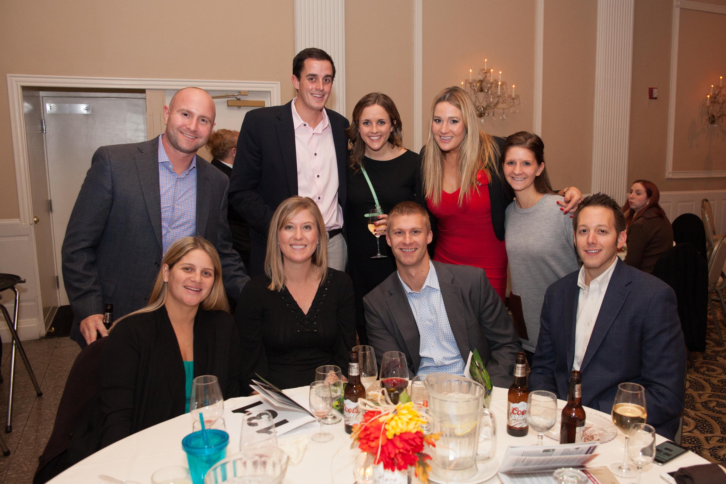 Pictured above: NAI Hiffman's Jason Wurtz, Sarah Lejman, Aubrey Van Reken, Krystyl Smalarz, Michael Quaid and Adam Johnson.