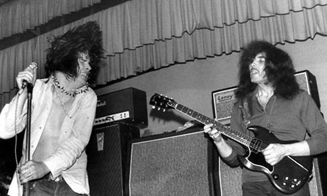 Ozzy & Tony, 1969 © Ellen Poppinga