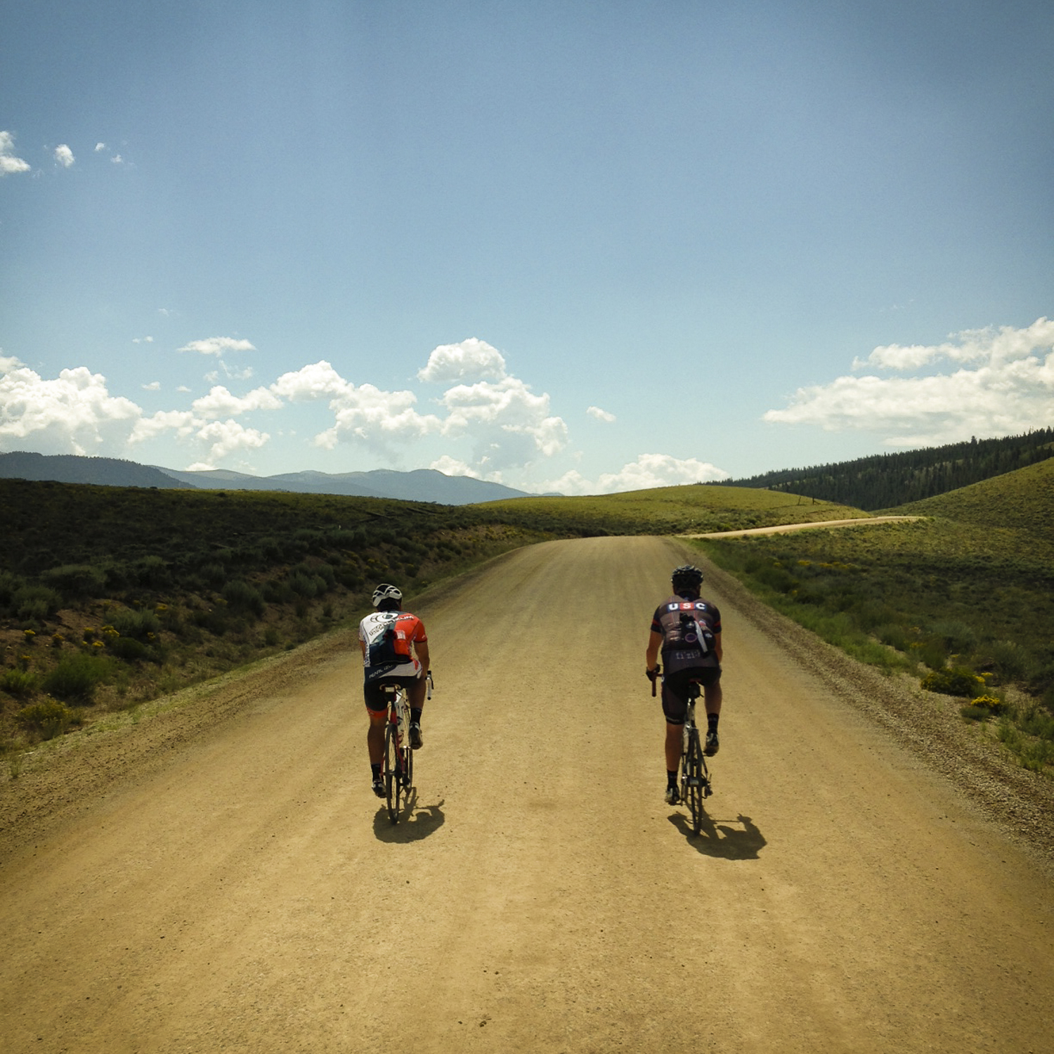 Dreamy dirt road between Leadville and Twin Lakes -- also part of the Leadville 100 MTB course.