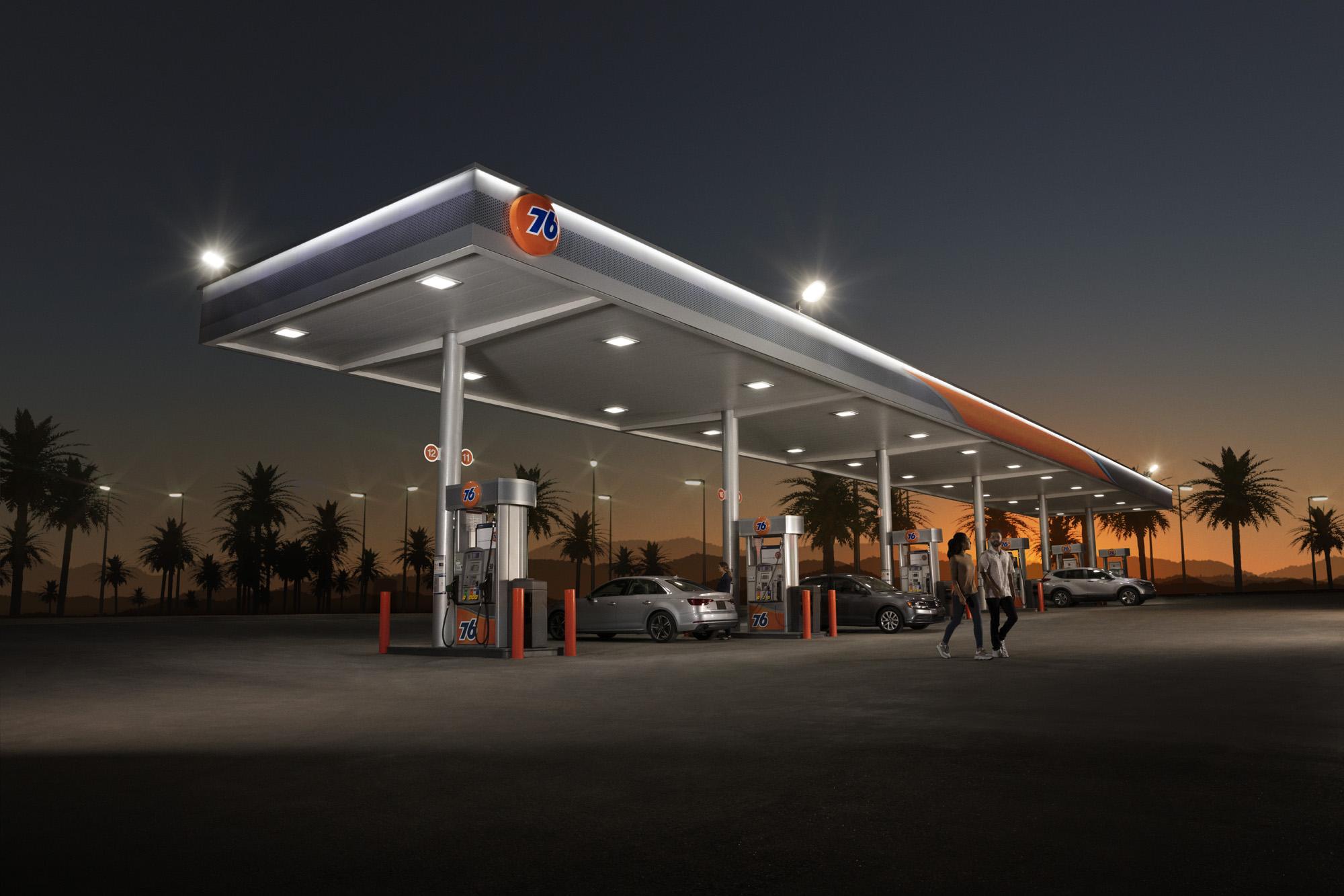 Gas Station -