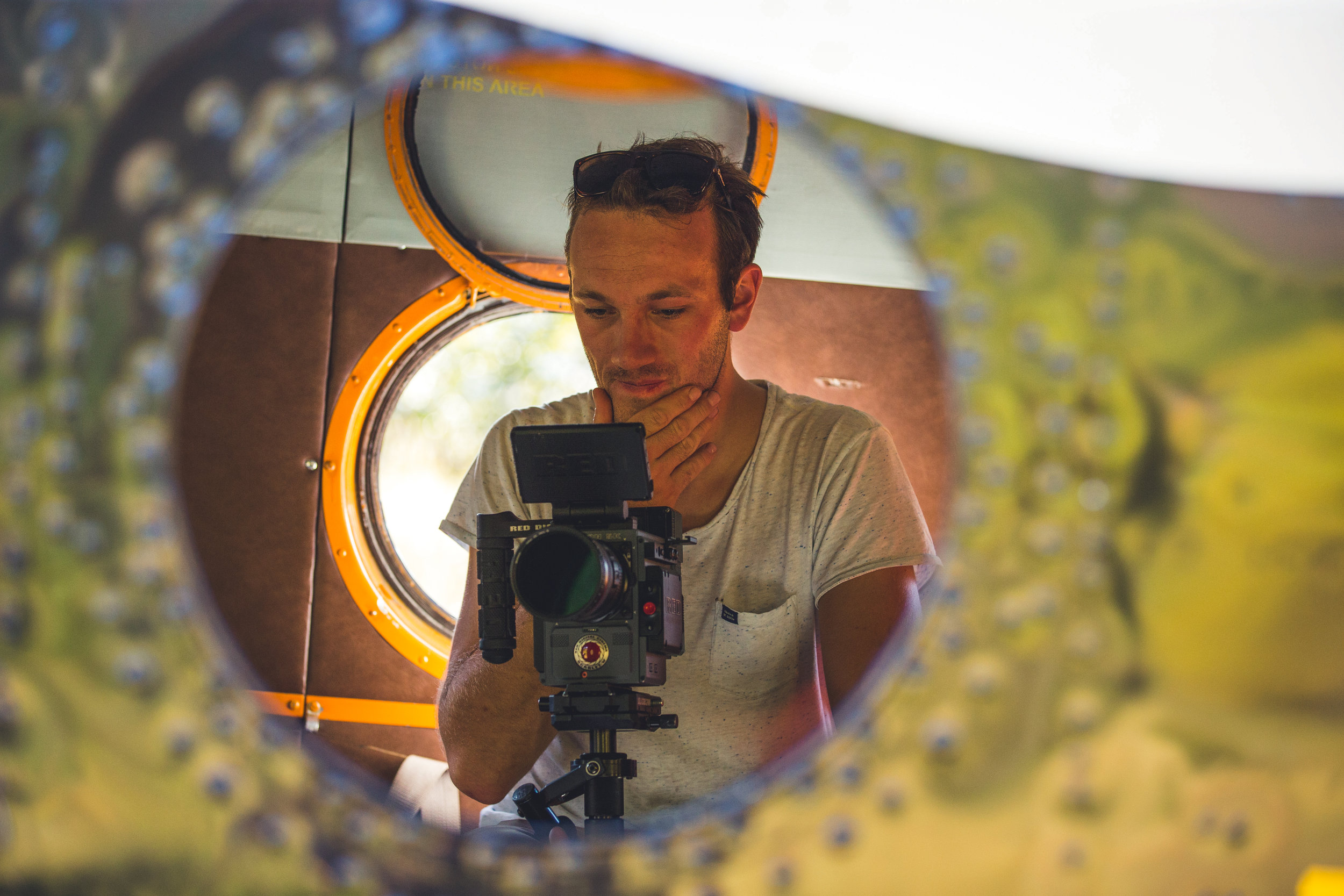 """Director & Founder PHilipp Becker - shooting for """"Outlaw Diaries III"""" in Siberia"""