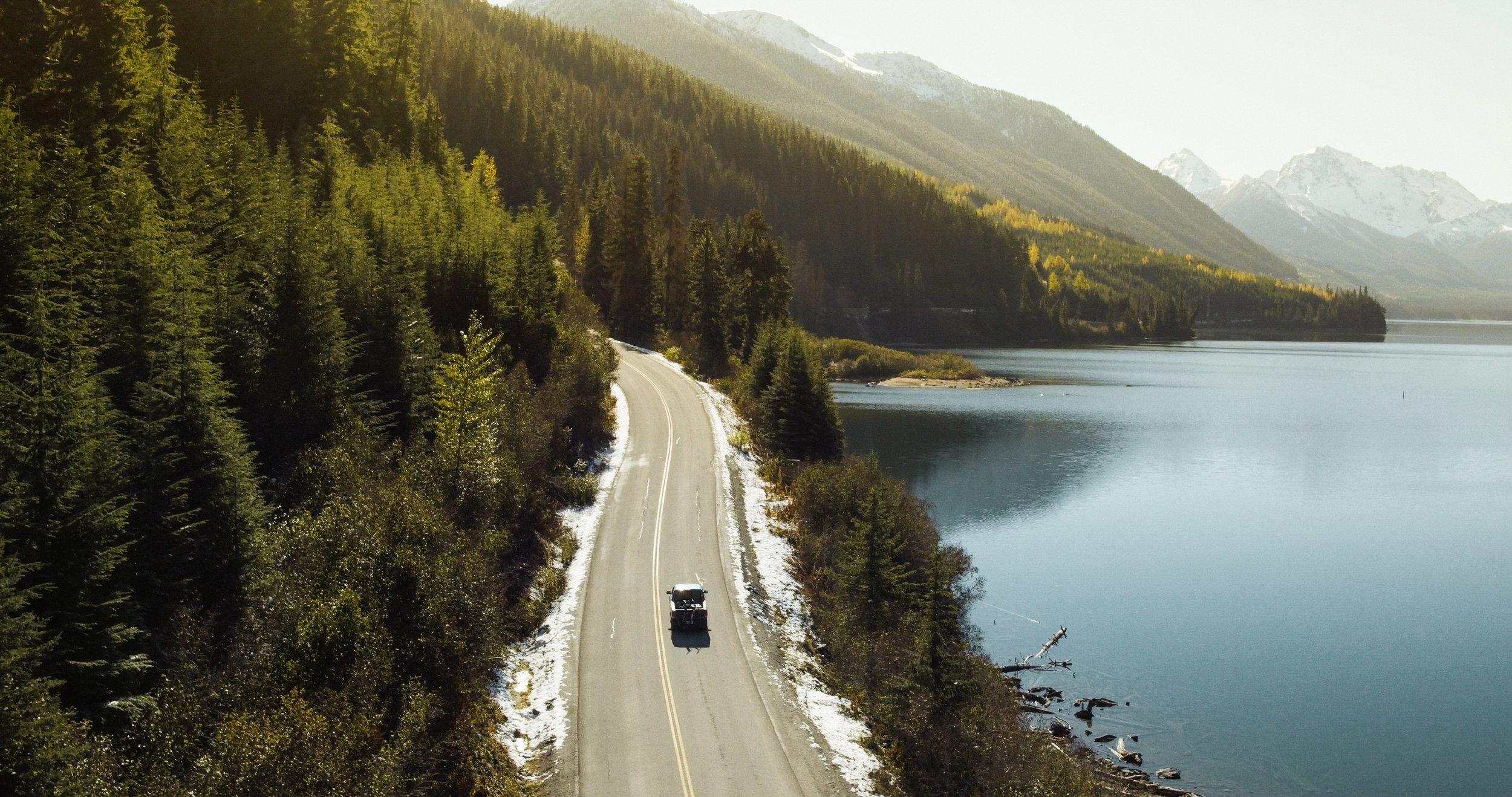 """beautiful british columbia - Dreharbeiten für """"Outlaw Diaries II"""" in Kanada"""
