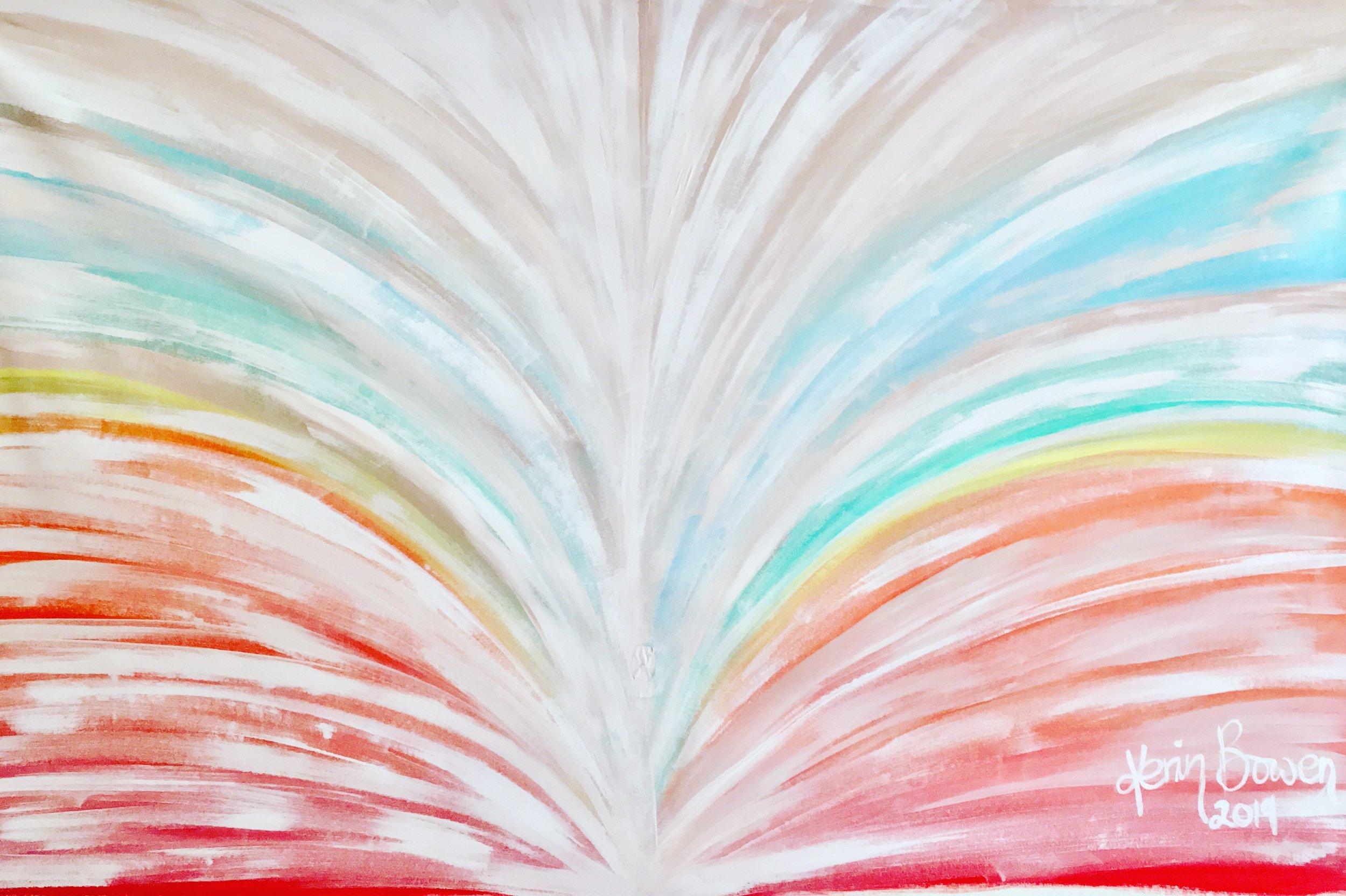 Rainbow, 2019  oil on canvas