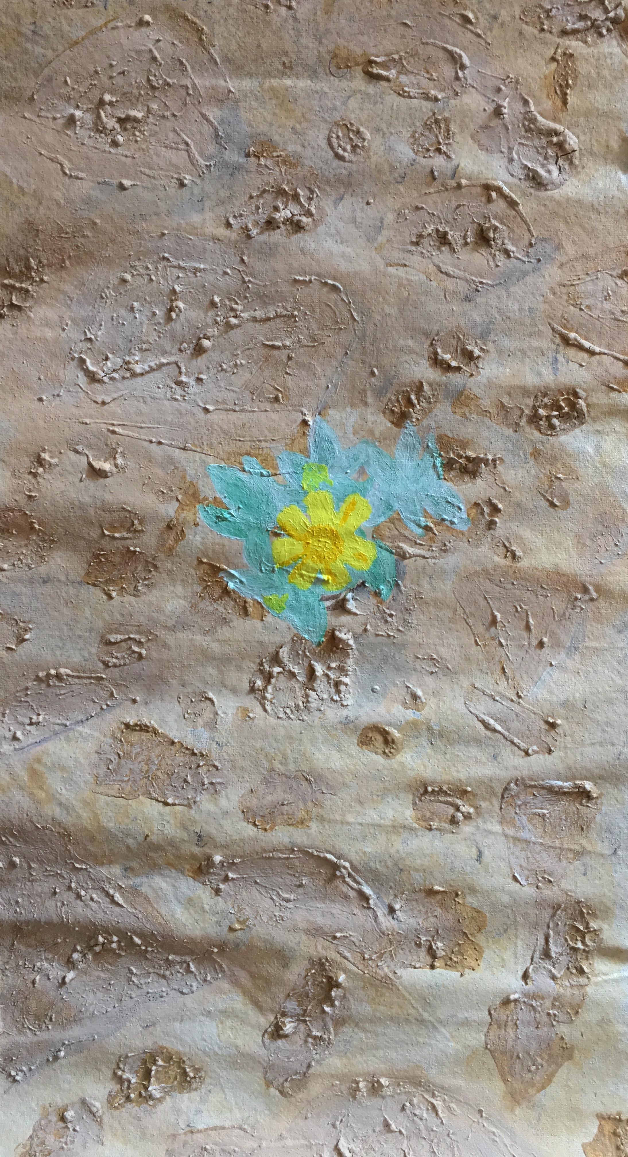 Desert Flower, 2017-2019  acrylic on linen