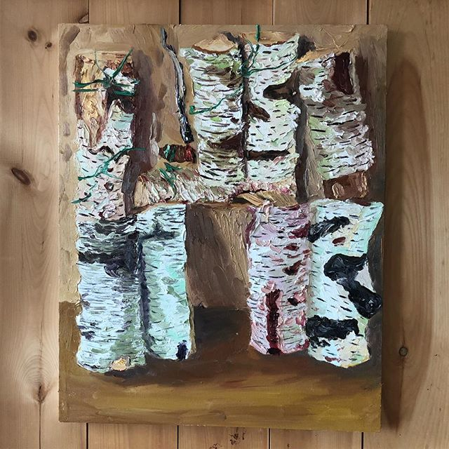 """Smoking Birch II"" 2019"