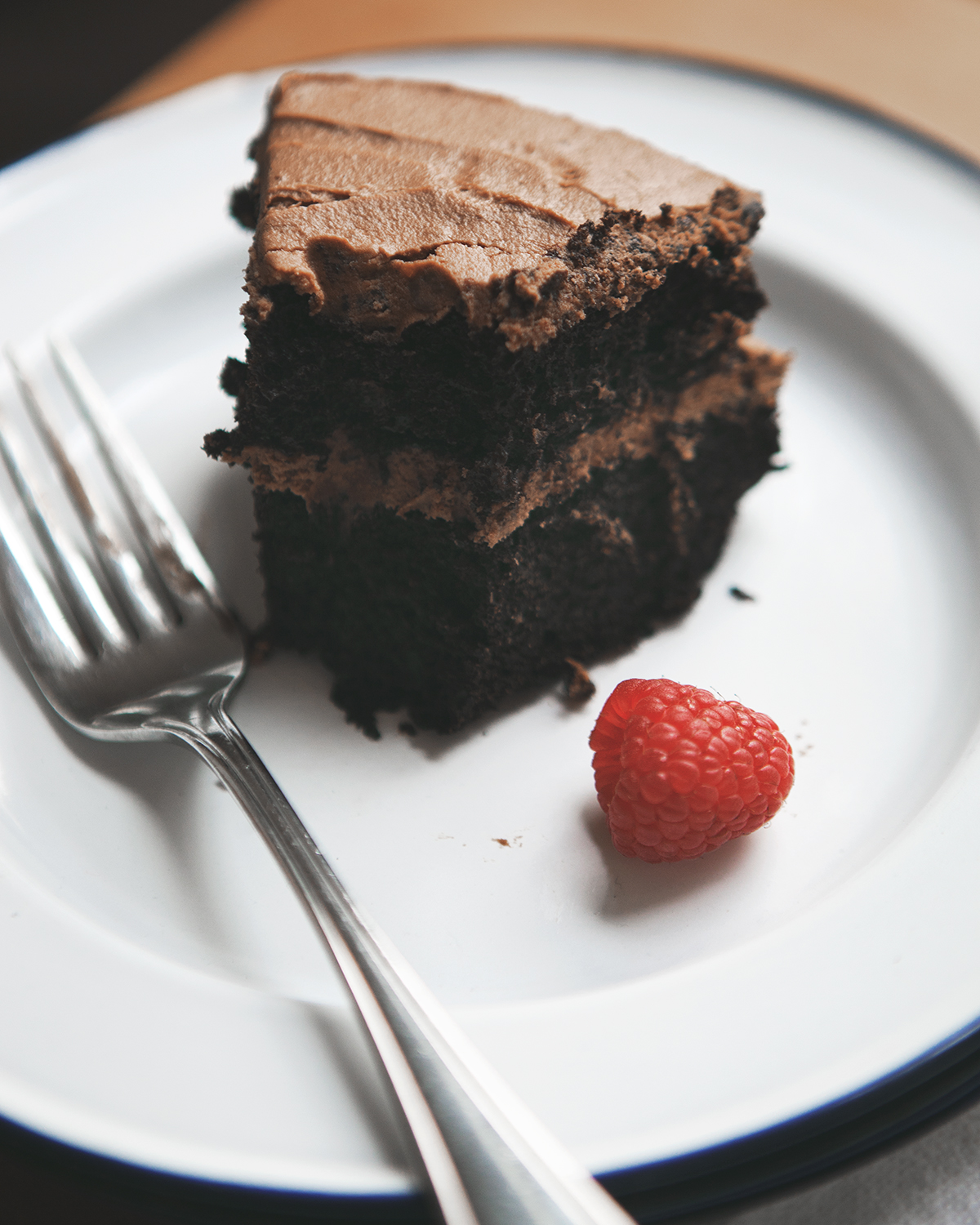 Chocolate Layer Cake with Chocolate Sour Cream Frosting_005.jpg