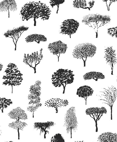 We chose  this Marimekko wallpaper  for our side entrance/kitchen entrance! Keeping the theme of black + white wallpaper ( we have bunnies going in the bathroom ) I'm excited that this will liven up the small hallway as guests enter the kitchen.