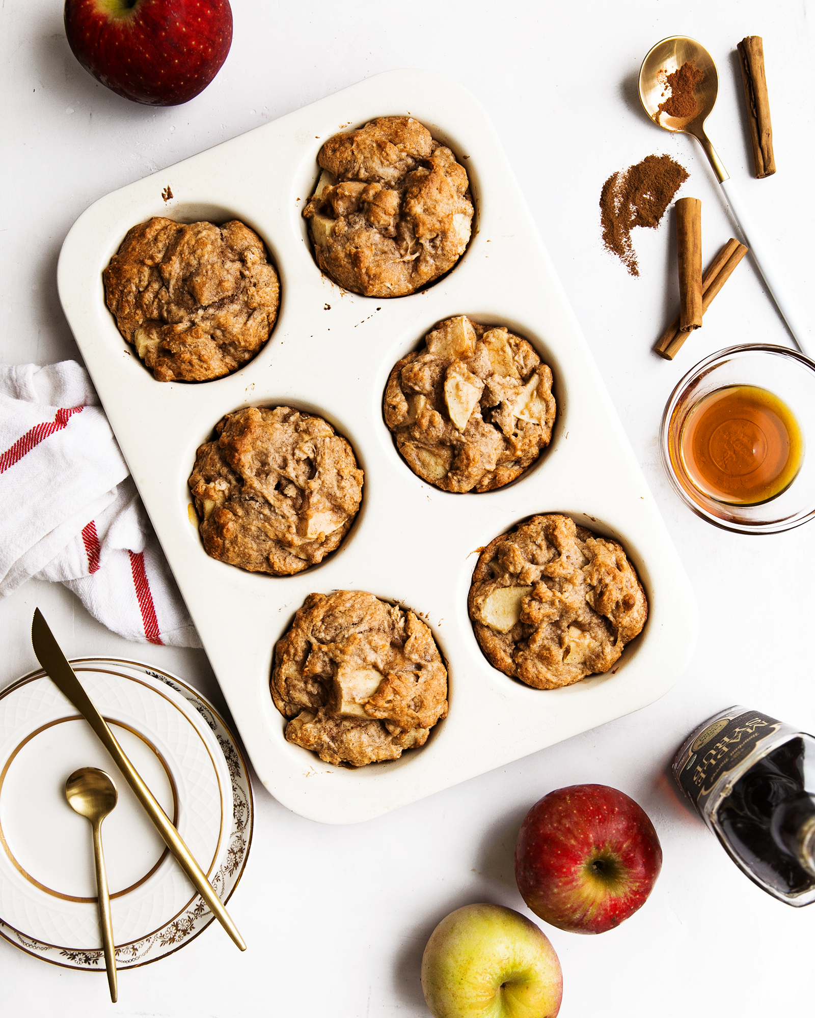 Maple Apple Muffins (gluten-free)