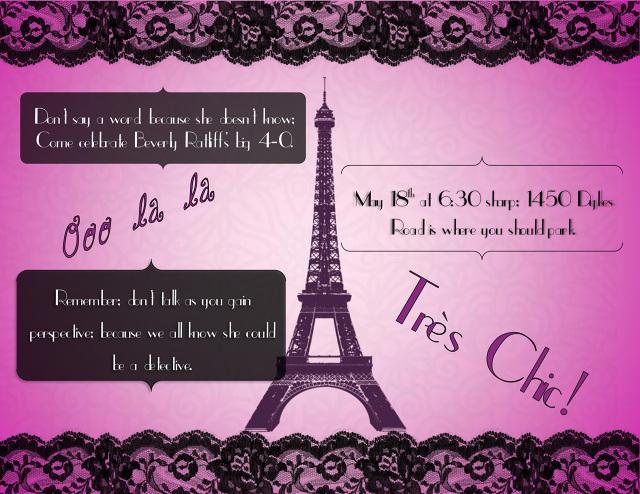 Parisian Birthday