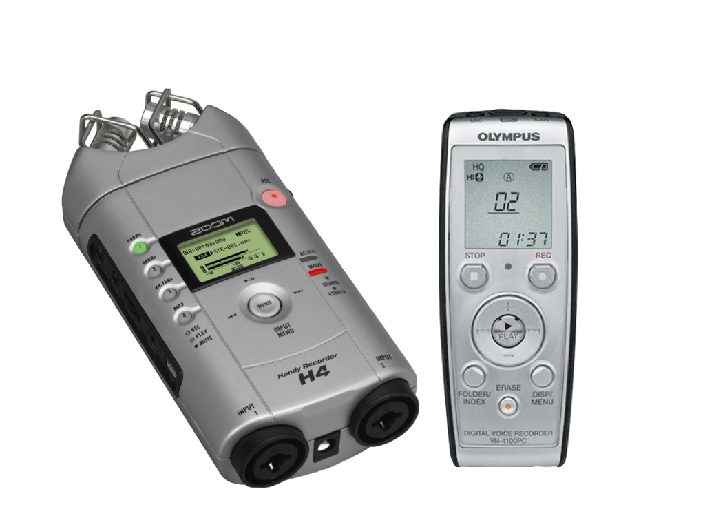 Voice recorders are one of the main pieces of equipment in any investigators kit. Voice recorders allow us to catch EVPs (Electronic Voice Phenomenon) or disembodied voices that are indistinguishable to the human ear. Some voice recorders also help capture frequencies that cannot be heard live with the naked ear.