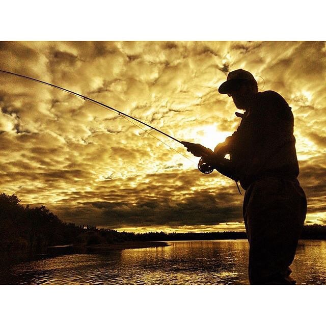 alaskaguidelist :     @brewcitydelli and @arozn907 took a break from guiding this past season at #tikchiknarrowsLodge to rope some silvers. #flyfishing #alaska #catchandrelease #ak #alaskaflyfishing #silversalmon