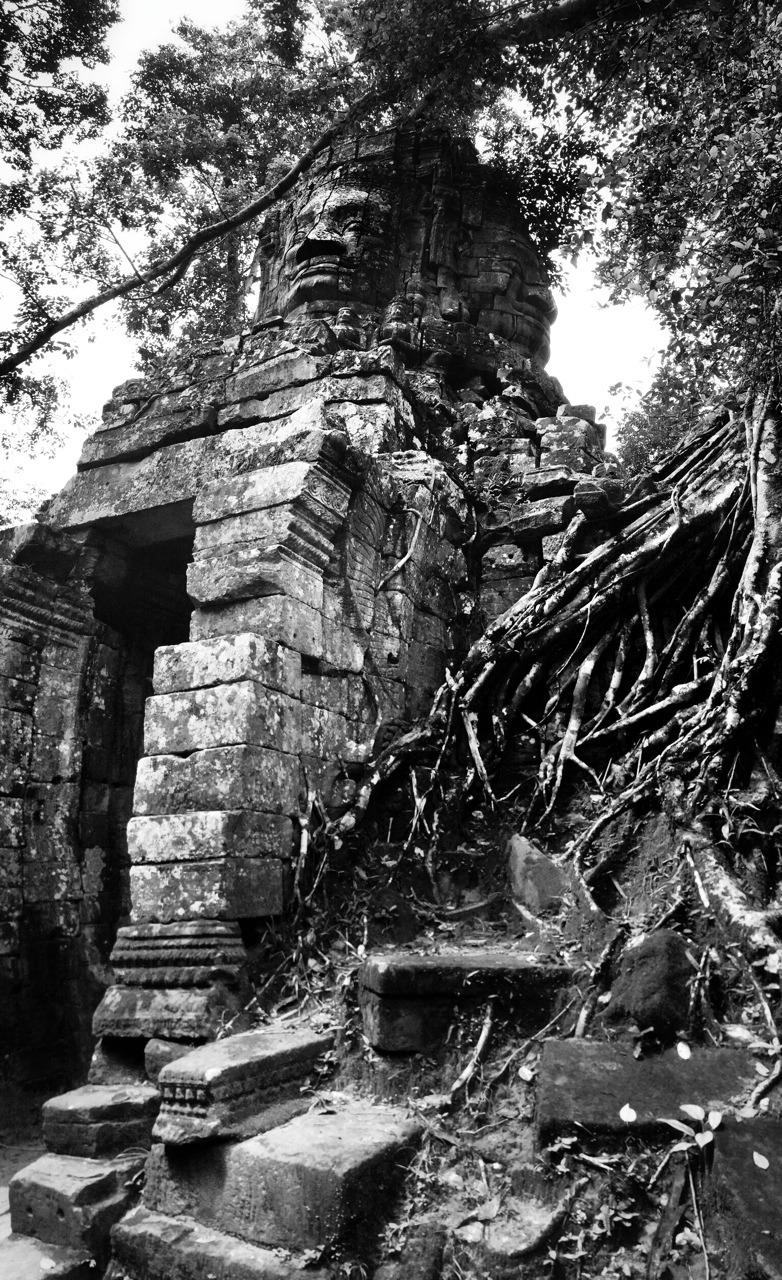 Bayon, Angkor Wat, Cambodia.    -A