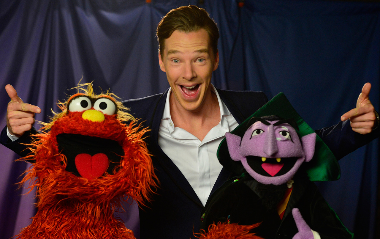 pbstv :     Surprise! Benedict Cumberbatch sheds the serious Sherlock to share some laughs with these two - stay tuned! #Counterbatch
