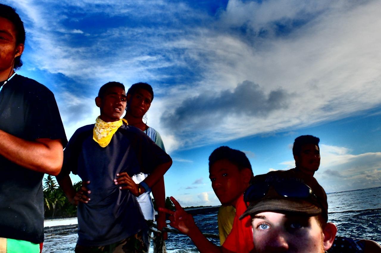 Nassau, Cook Islands.