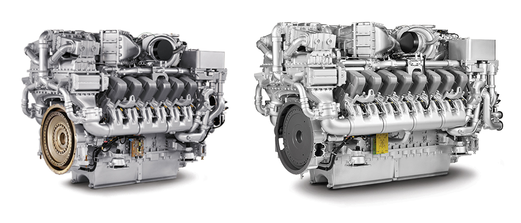The 12V and 16V Series 4000 MTU engines are some of the cleanest engines ever offered in their horsepower class.