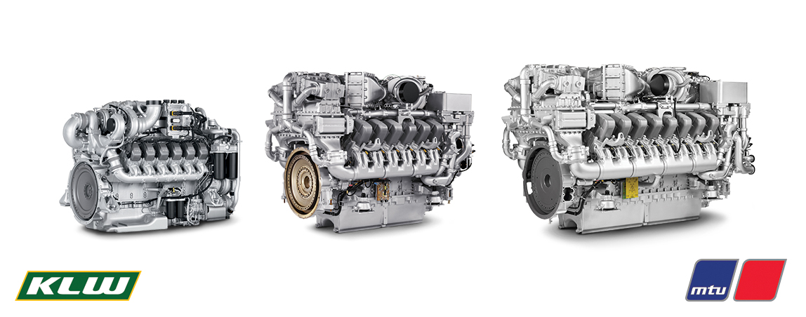 The MTU engines used in KLW locomotives range from 1,000 bhp up to 3,200 bhp.