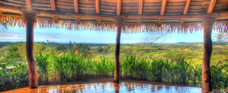 The view from the yoga palapa at the next Jungle Spirit Yoga Retreat in Costa Rica!