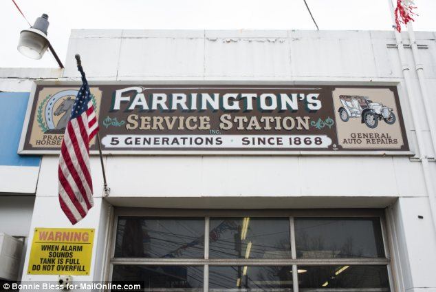 Farrington's Service Station in College Point, Queens