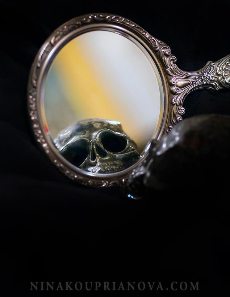 vanitas with mirror and skull.jpg