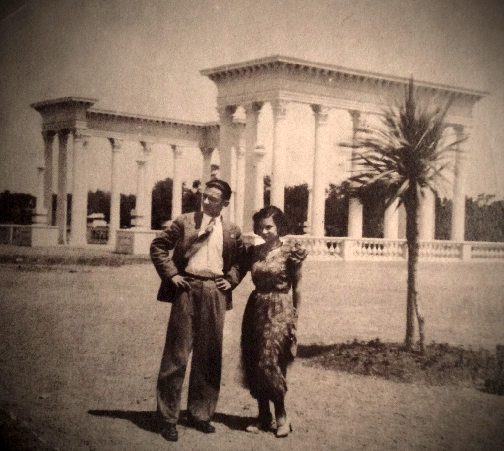 Grandparents in Batumi, Georgia, USSR.