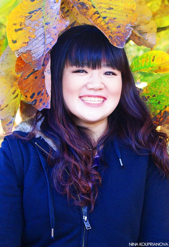 Takako with leaves 800 px url.jpg