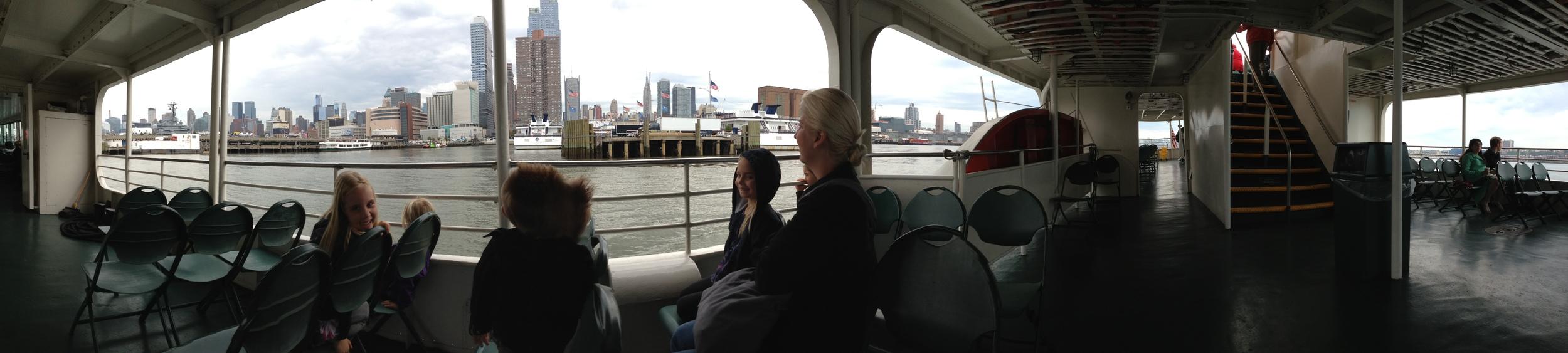 The Circle Cruise around Manhattan.