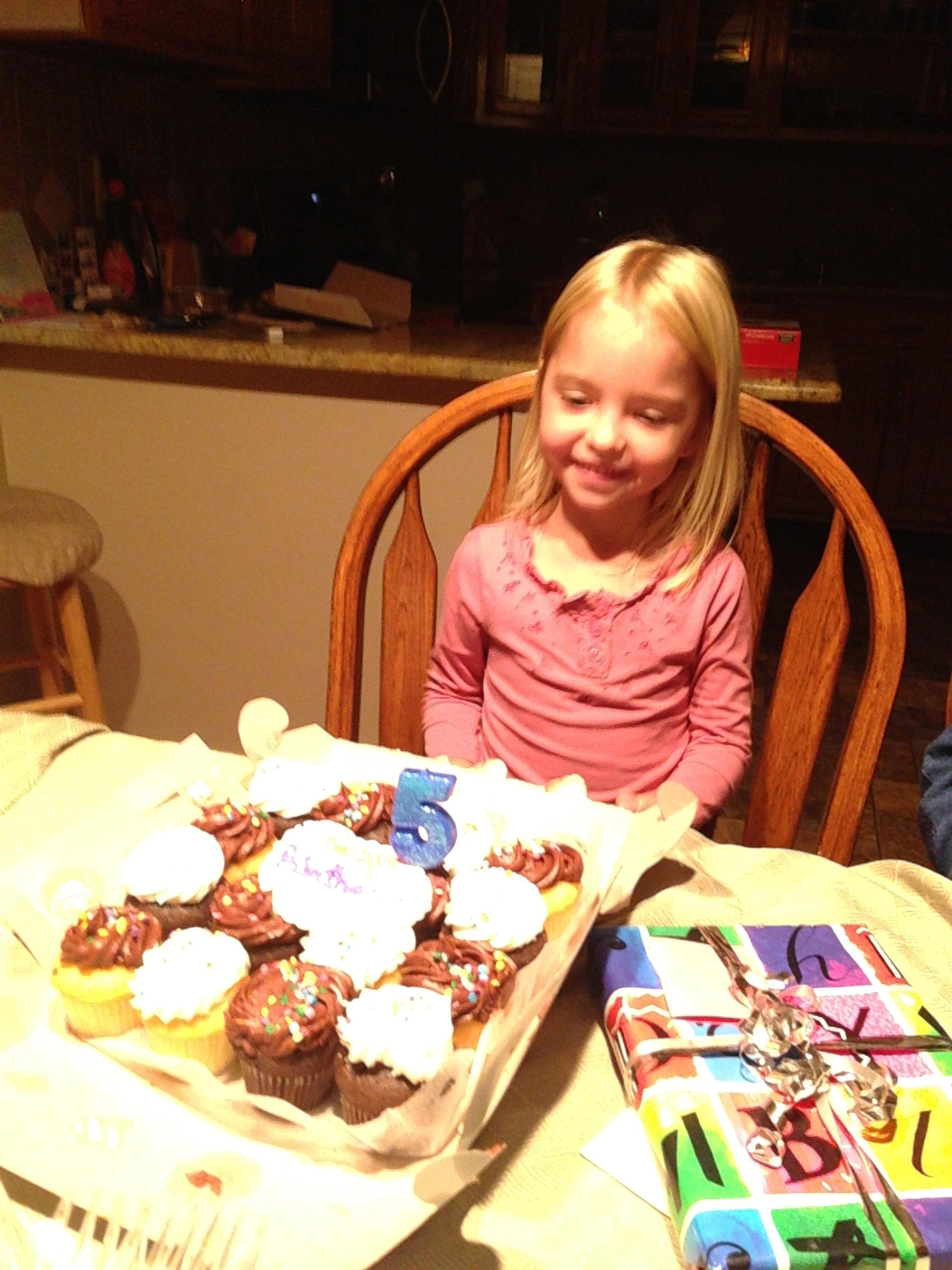 Celebrating Cecilia's Birthday on the Road
