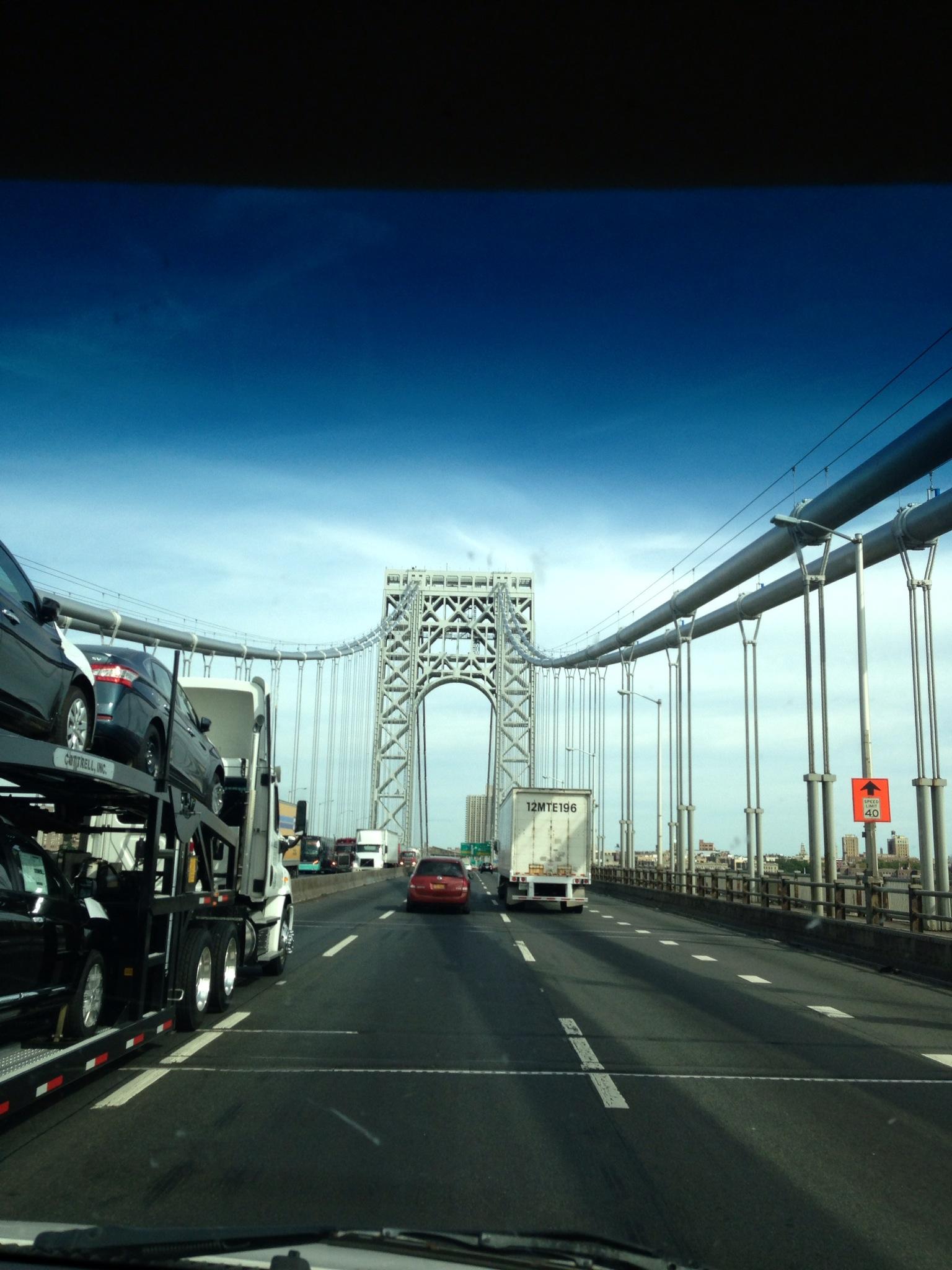 We paid $49 to cross this bridge!