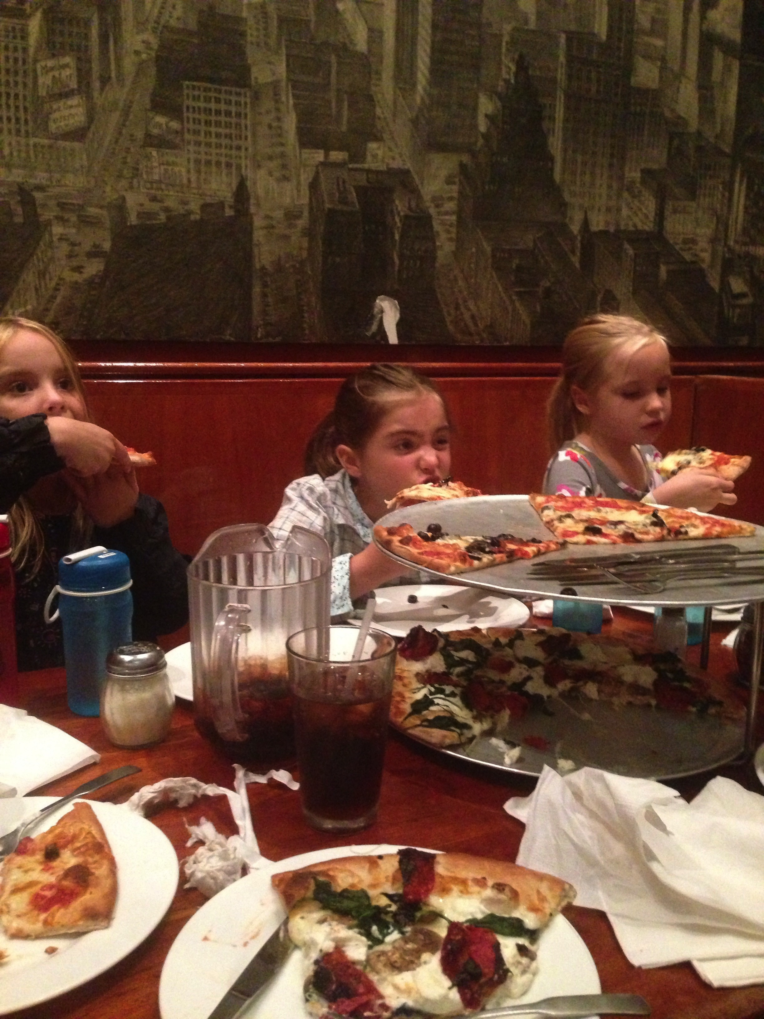 Luscious NY Style Pizza...  A Family Favorite!