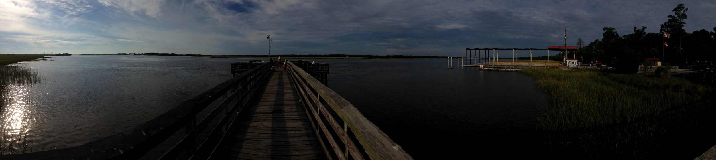 The Dock at Blythe Island State Park