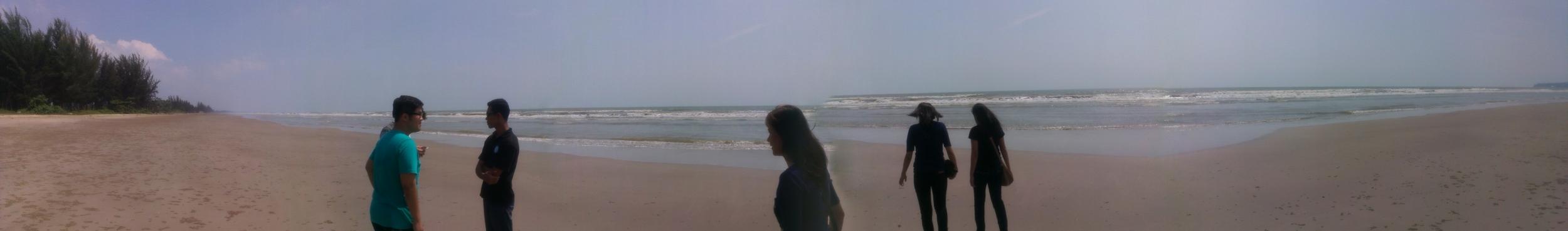 The teens take us to the South China Sea.