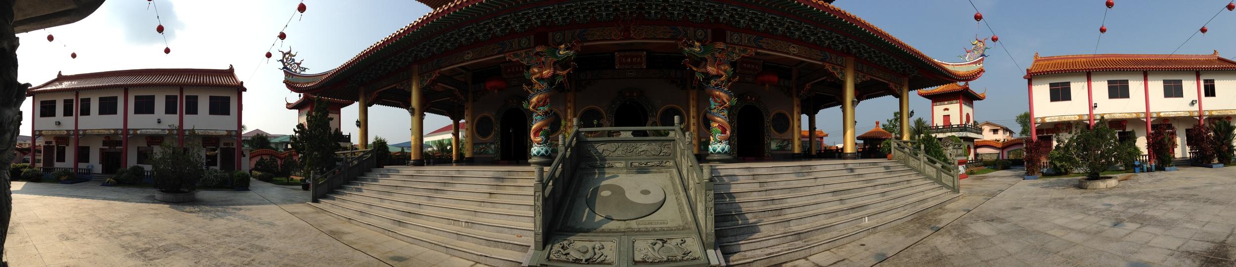 A Taoist temple in Malaysia