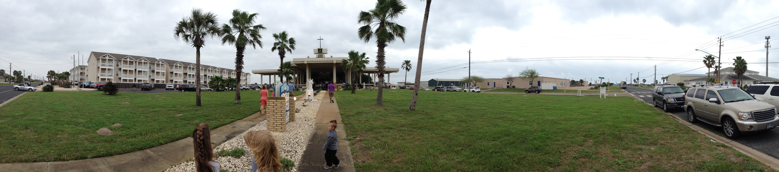 St. Andrew by the Sea Open Air Mass on Easter Sunday