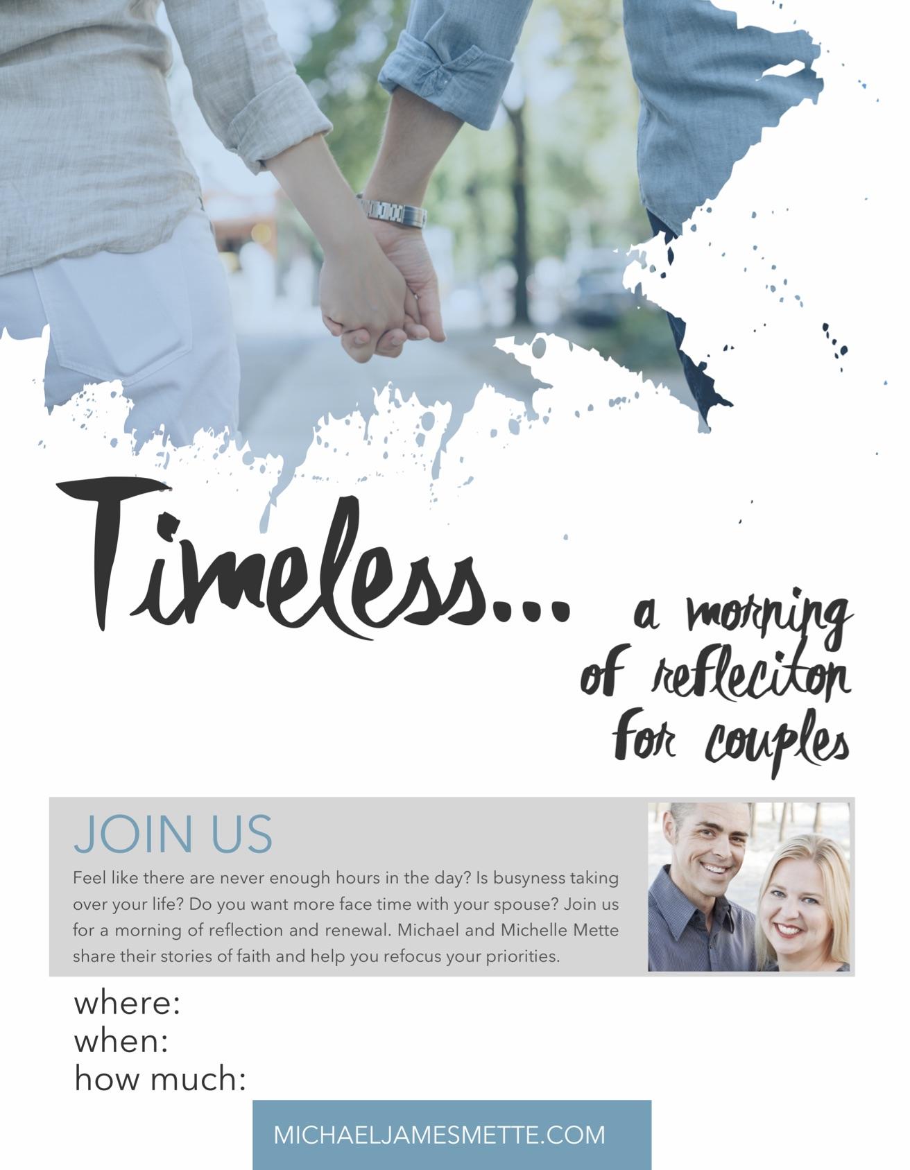 Morning ofReflection Poster -