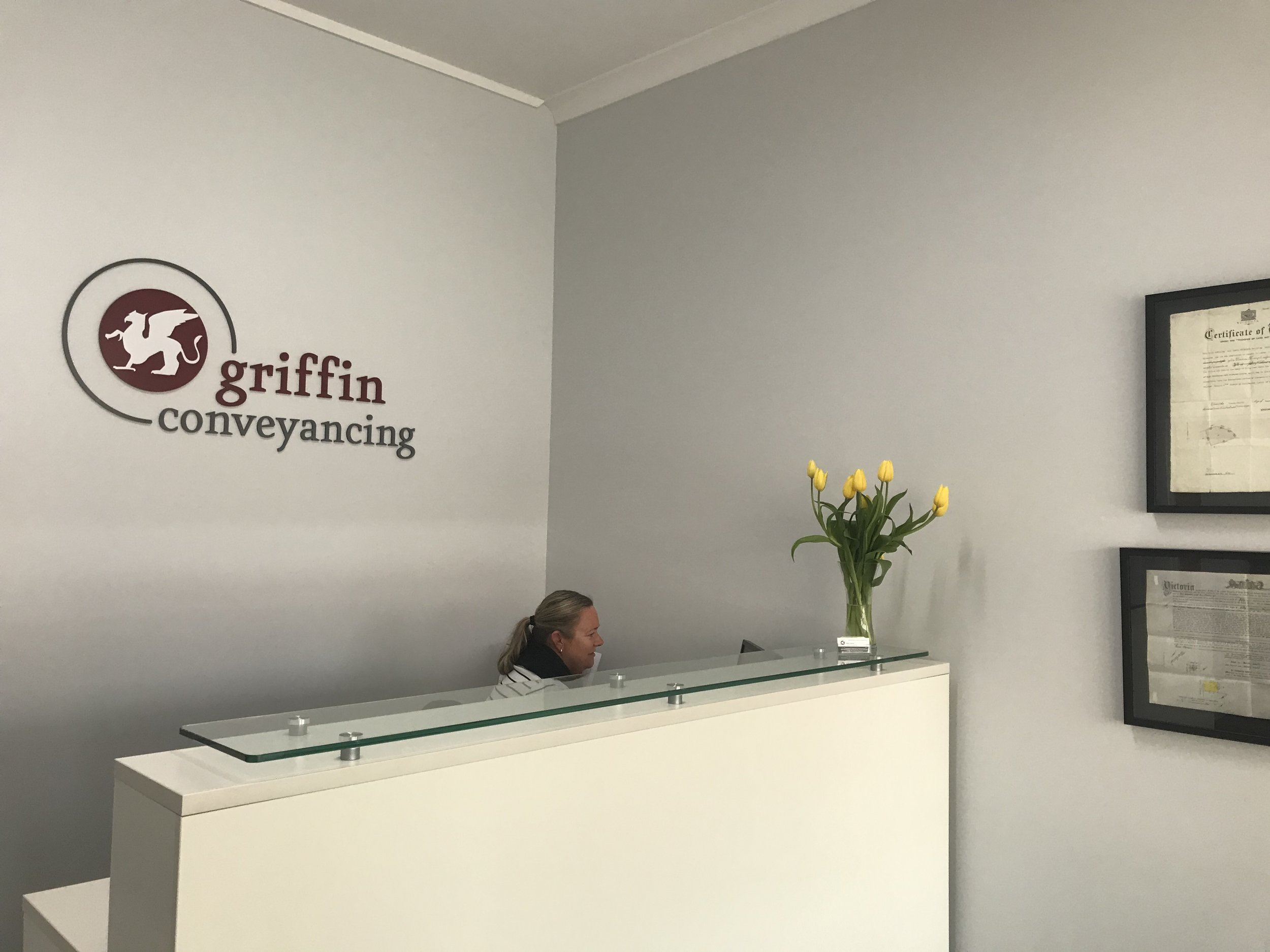 Welcome to Griffin Conveyancing in Castlmaine
