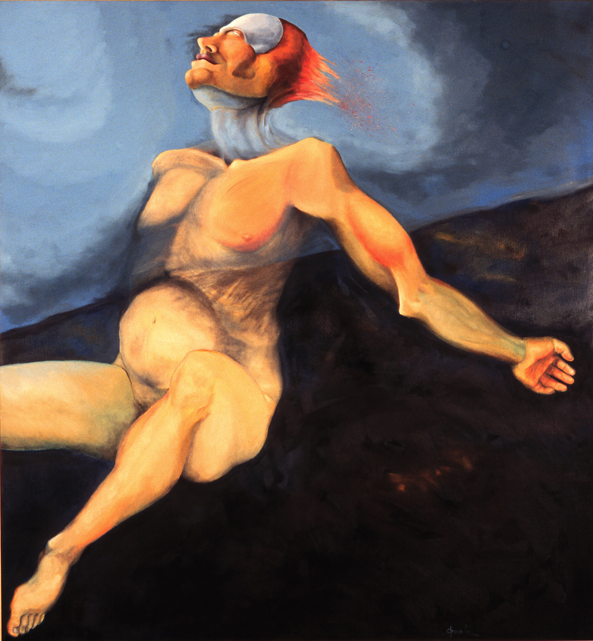 Figure in a Landscape