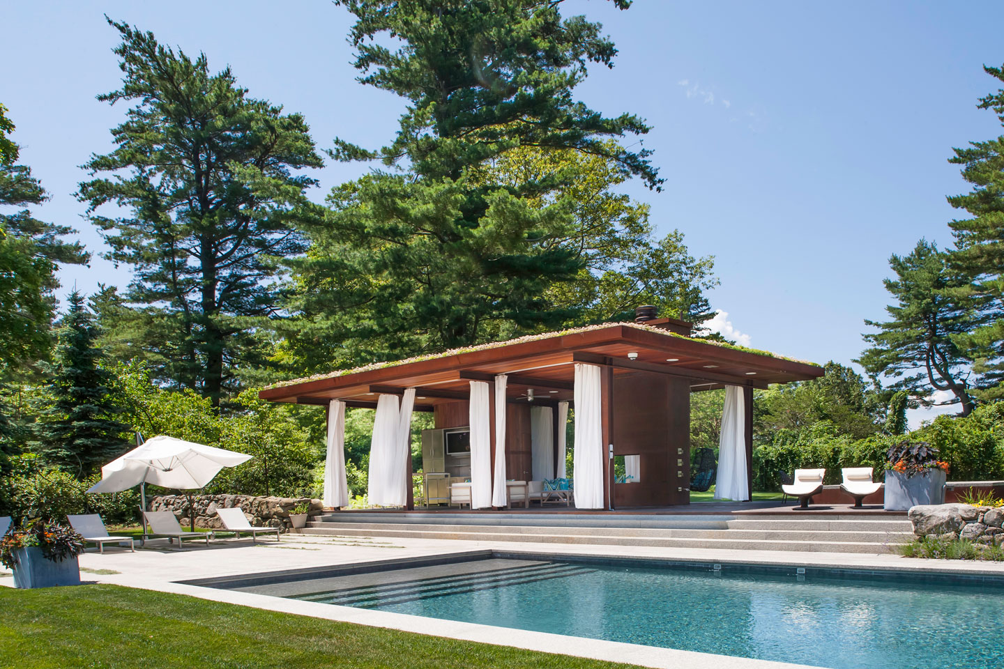Poolhouse | Wilton, CT