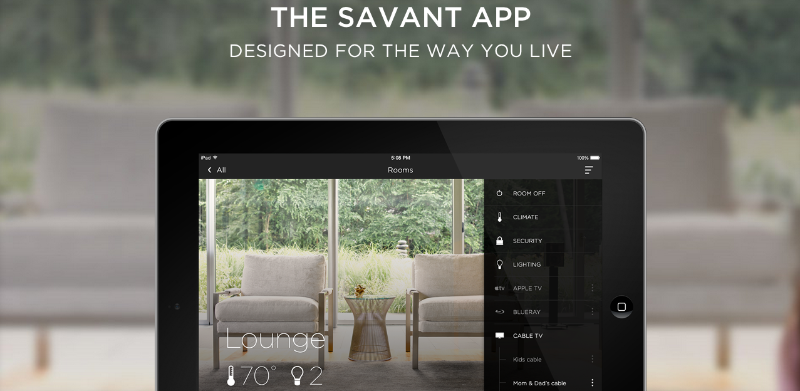 Savant App Premier       To our partners in the architectural, design, and construction community         Thursday, November 20th, 5pm   Realm Experience Center 140 Water Street, South Norwalk, CT     Savant®, the leading luxury smart home technology company, has announced the Savant App--a revolutionarynew interfacethat allows homeowners to control their lighting, climate, entertainment, and security system from a single, easy-to-use app.   Using any iOS or Android device, the Single App Home© offers an unparalleled level of personalization, so every user can tailor it to match his or her lifestyle. From waking up in the morning to saying goodnight and everything in between, the Savant App lets homeowners capture and set their homes just the way they like them.  Please joinus at Realm for an opportunity to be the first to experience the new Savant App in a fully functional environment. Click the button below to RSVP, andplease include the number of your guests and colleagues that will be in attendance. We look forward to showing you what Savant and Realm can do for you and your clients.