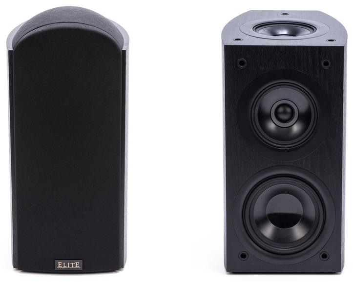 Atmos Enabled speakers with added ceiling facing drivers.