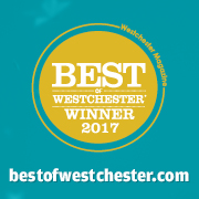 Named Best of Westchester 2017 in Westchester Magazine