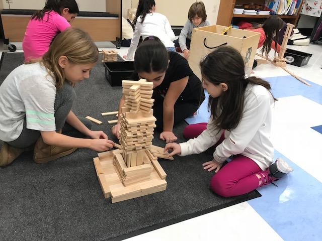 KEVA Plank Building Challenge